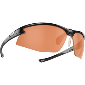 Bliz Motion M5 Occhiali, shiny black/orange
